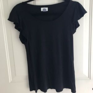 Old Navy Flutter Sleeve Top, Size S